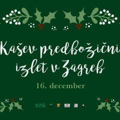 KAŠev predbožični izlet v Zagreb 2017