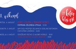 1. vikend Kaševega letnega vrta 2017